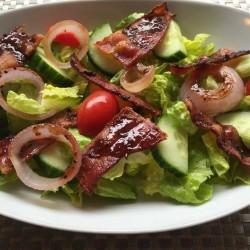 Pineapple Tamarind Bacon and Onion Salad